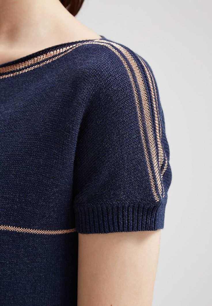 Teddy Smith Strickpullover - dark blue chine - Zalando.de