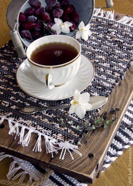 Купить сервировочная салфетка - ручное ткачество, сервировка, салфетки, скатерти, хлопок, домоткань, столовое белье