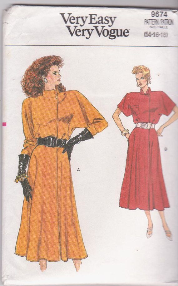 1980s vintage easy sewing pattern for loose by beththebooklady, $15.99