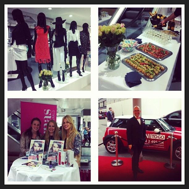 Vilken lyckad shoppingkväll tillsammans med Damernas Värld ikväll! #mq #dv #shopping #fredsgatan #minicooper #yvesrocher @Damernas värld
