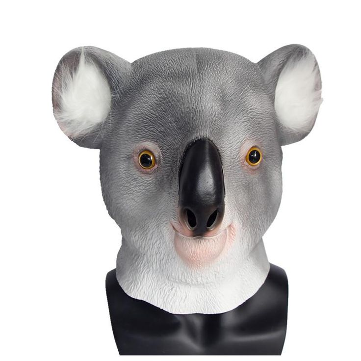 X-MERRY Toy Latex Animal Mask Full Face Cosplay Masquerade Fancy Dress Carnival Eagle Dog Chimp Dinosaur Mask Halloween Costume
