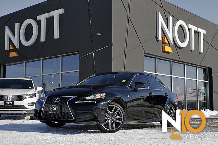 2014 Lexus IS 250 F-Sport For Sale In Winnipeg | Series 2, AWD, Navigation, Moonroof, Backup Camera