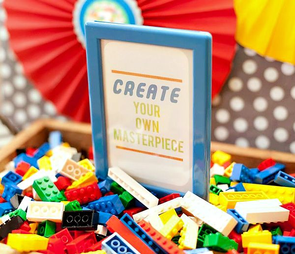 Colorful Lego Themed Party {Twin Boys Birthday}