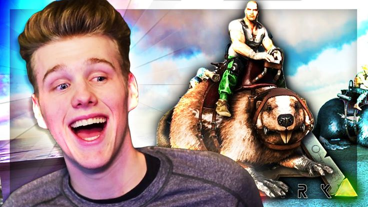 ARK: Survival Evolved Server - TAMED SUPER-BEAVER! #4