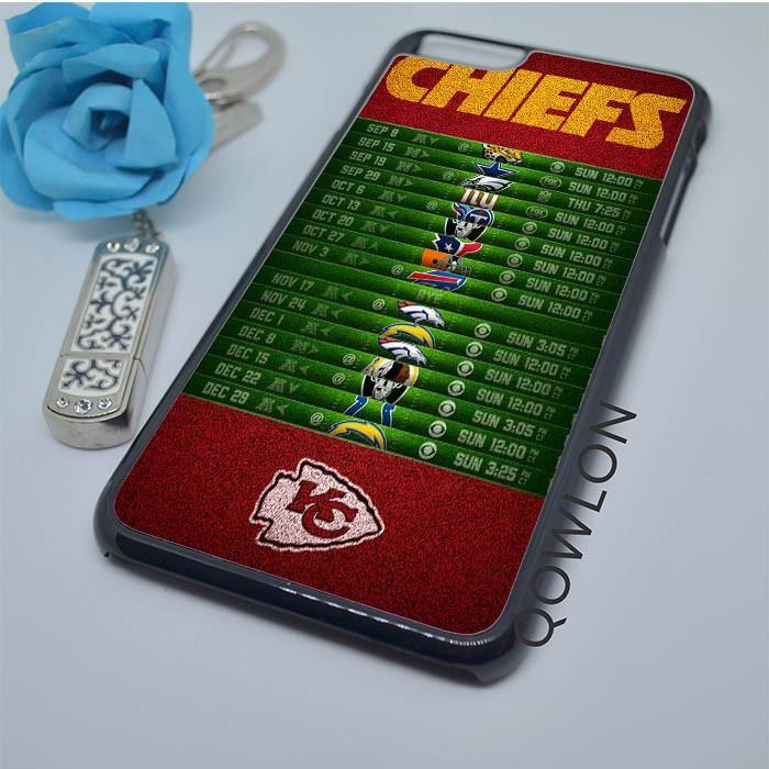 Kansas City Chiefs Schedule iPhone 6 Plus | 6S Plus Case