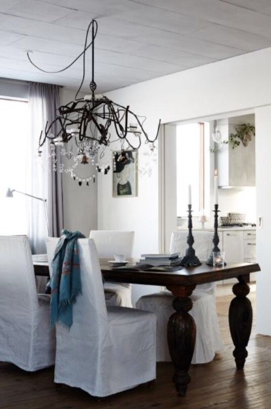 """This chandelier is from our feature """"Villa Iceland"""""""