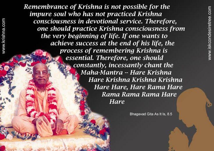 Constantly Chanting The Hare Krishna Mahamantra  For full quote go to: http://quotes.iskcondesiretree.com/srila-prabhupada-on-constantly-chanting-the-hare-krishna-mahamantra/  Subscribe to Hare Krishna Quotes: http://harekrishnaquotes.com/subscribe/  #Chanting, #KrishnaConsciousness, #PractisingKrishnaConsciousness