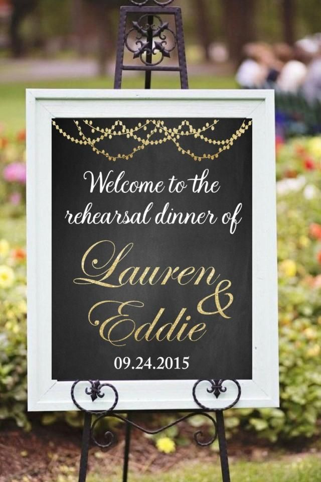 Looking for perfect Rehearsal Dinner Wedding Sign for your WeddingThis listing is for a PRINTABLE large wedding sign for you to print on your own.Interested in more wedding decoration, please visithttps://www.etsy.com/shop/chalkboarddesign?section_id=14429831