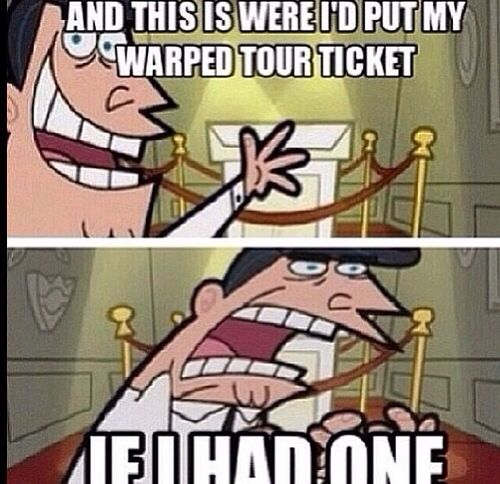 My tickets for my OM&M & BMTH concert costed like $300. Like holy fuck!! Still have them so...