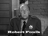 Robert Foulk as Sheriff Miller: Radios Actor, Too Long Forgotten Radios, Age Radios, Radios Perry