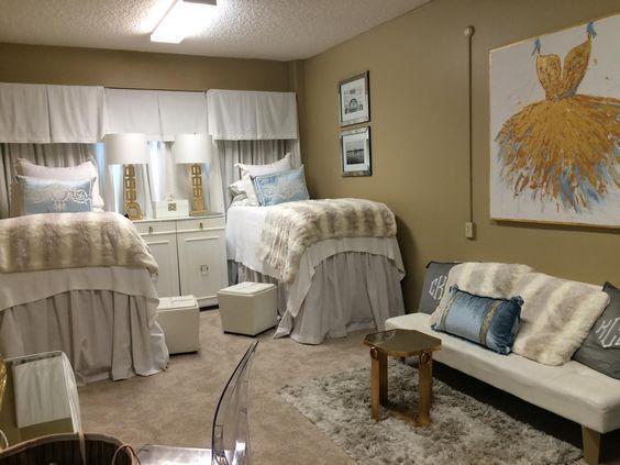 18 Amazing Coordinating Dorm Room Ideas Part 71