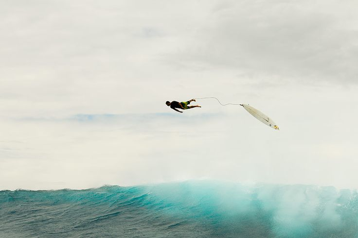 Fijian Thunder up in the sky it's a Bird,no it;s a Plane,no it is a Surfer flying high in the Sky from atop of a Wave