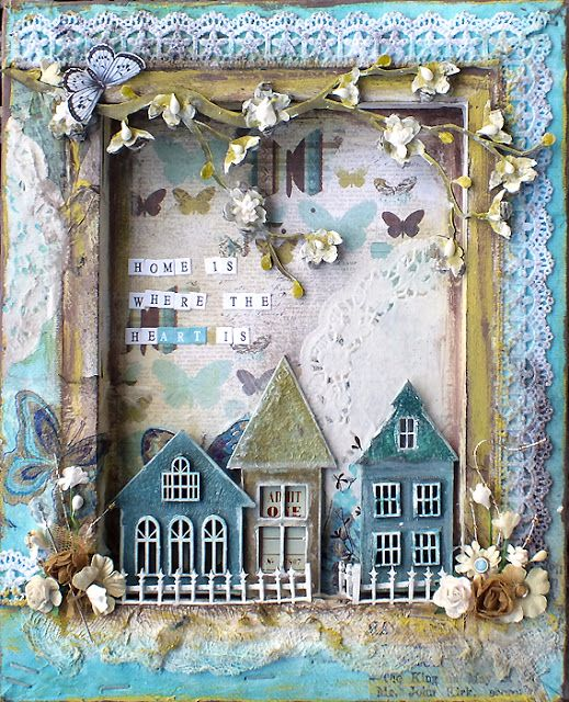 Michelle Grant desiGns: Where the HeArt Is ~Canvas~ * Dusty Attic*