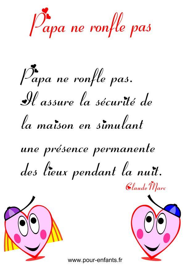 Attractive La Date De La Fete Des Peres #14: Texte à Imprimer Fête Des Pères FETE Des Papas FETE Des PERES