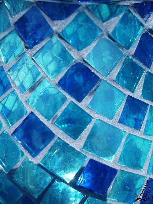 Aqua/Teal/Turquoise & Blue