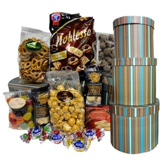 Yummy Tower Gift Basket