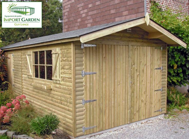 11 best garage et carport en bois images on pinterest garage le garage bois cologique et esthtique solutioingenieria Gallery