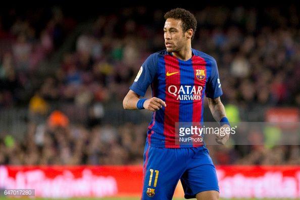 Fotografía de noticias : Neymar Jr during the spanish football league...