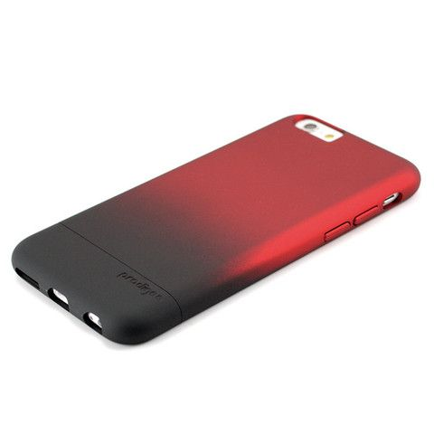 new concept 84527 12c41 Color gradient 2 piece slider black and red iPhone 6 case, impact ...