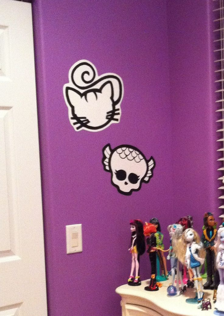 Monster High Wall Decor 40 best prices ~ monster high painted murals images on pinterest