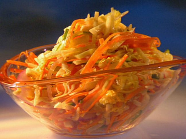 Jicama Slaw Recipe : Guy Fieri : Food Network - FoodNetwork.com