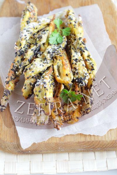 Баклажаны с кунжутом, запеченные в духовке - домашние рецепты с фото