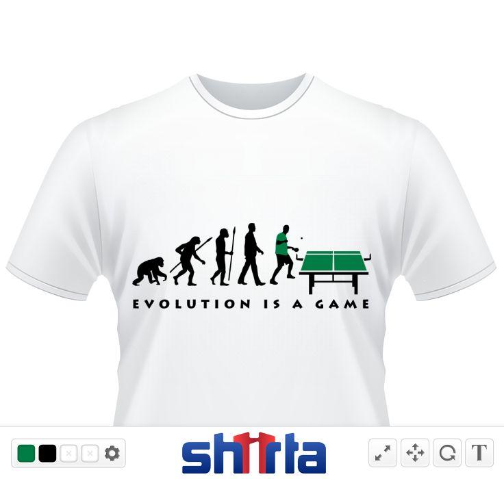 Evolution tischtennis | sport | Shirt designs, Shirts und ...