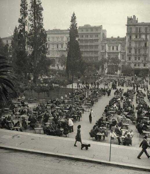 Syntagma square 1945