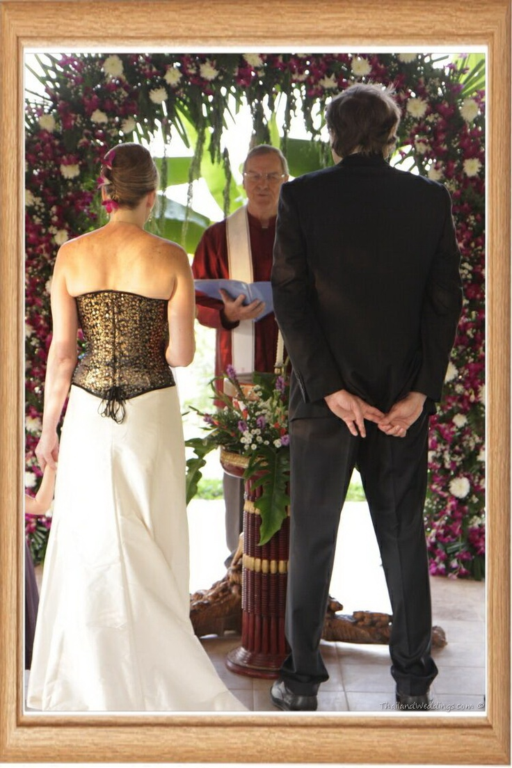 Christian wedding in Chiang Mai, Thailand