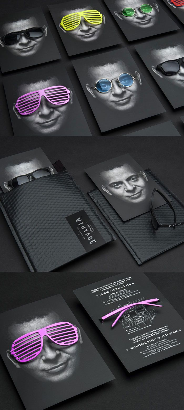 Vintage by Gregory Charles, packaging designed by lg2