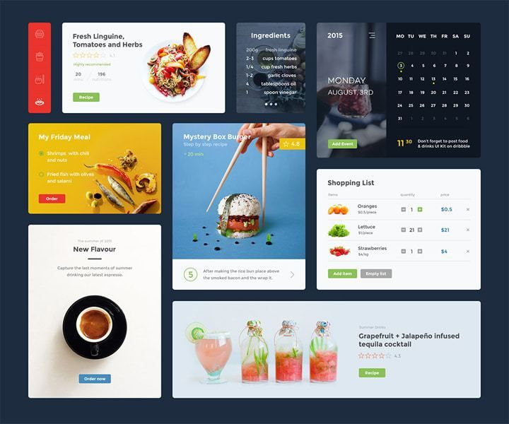 13 templates web psd à télécharger