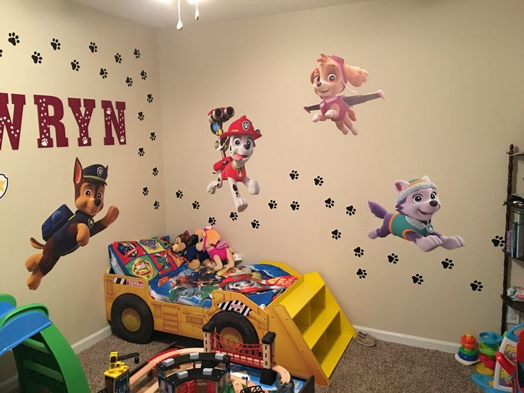 46 best Zoeys paw patrol bedroom images on Pinterest | Paw patrol ...