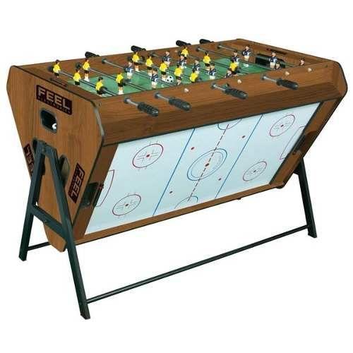 Mesa De Jogos 3x1 Feel Totó(pebolim), Hóquei De Mesa ,sinuca - R$ 999,00