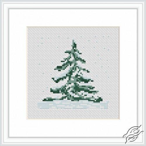 Fir-tree - Cross Stitch Kits by Luca-S - B012