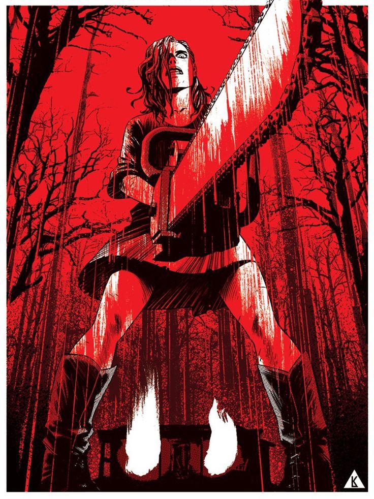 Evil Dead - ''Chainsaw'' - Kristian Donaldson ----