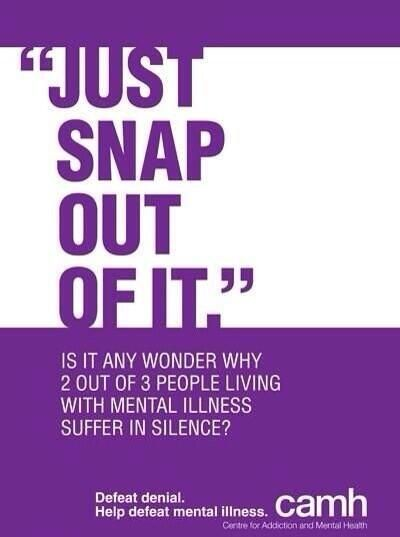 Mental Health, beat the stigma by being understanding and encouraging people to be open about their experiences