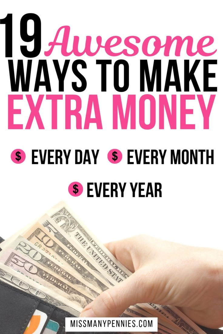 19 Creative Ways To Make Extra Money Every Month – Money Tips