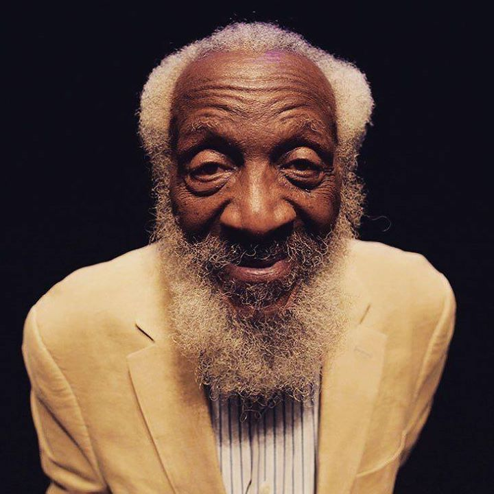 Dick Gregory: One of the things I keep learning is that the secret of being happy is doing things for other people. #DickGregory #HumanNote