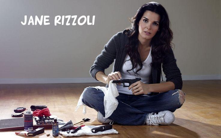 my new hero, I used to play Charlies Angels, now I pretend I'm Jane Rizzoli!