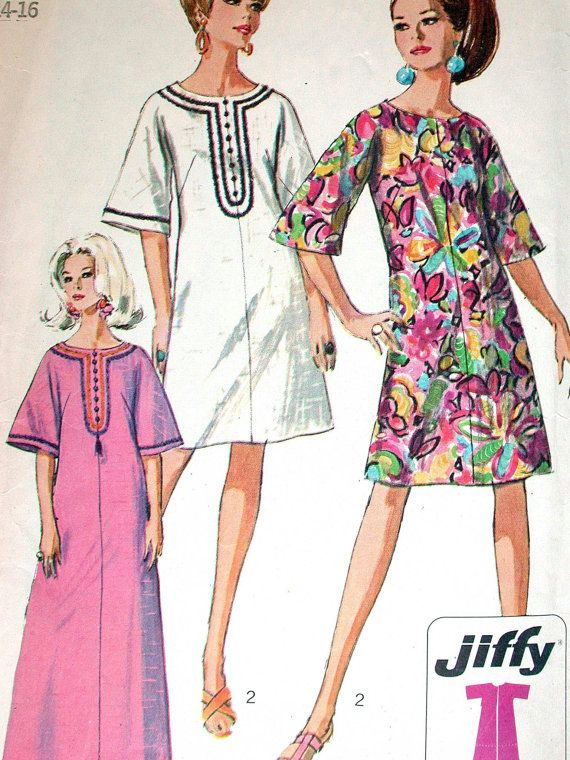 Simplicity Dress Pattern No 7170 Vintage 1960s by CaliforniaSunset