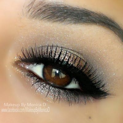 Shimmery Smokey Eye from Monica D.