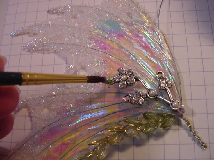 fairy wings fantasy film - Lady of the One Ring ~ Extremely Detailed. She also adds Fimo liquid to these Fabulous Wings ...M