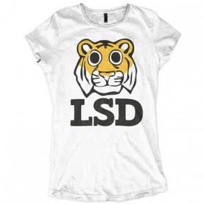 Lsd Hippie Tiger Allinclusive Apparel Ladies T-shirt