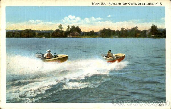 Motor Boat Races At The Oasis