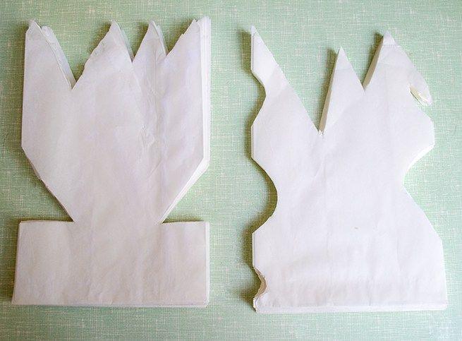 Anleitung – Sterne aus Brotpapiertüten basteln mit Kindern / DIY