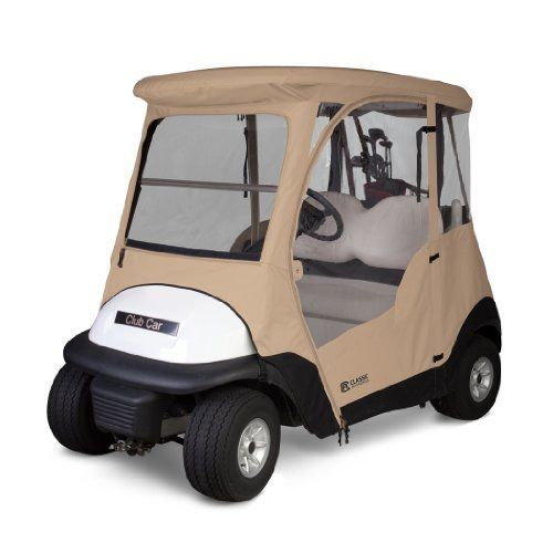 Clic Accessories Fairway Deluxe 4-Sided 2-Person Golf Cart ... on golf buggy, golf hitting nets, golf cartoons, golf handicap, golf trolley, golf games, golf machine, golf accessories, golf tools, golf card, golf girls, golf players, golf words,