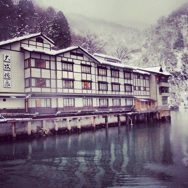 口コミ評価4.3!船でしか行けない富山の秘境旅館「大牧温泉」とは | RETRIP