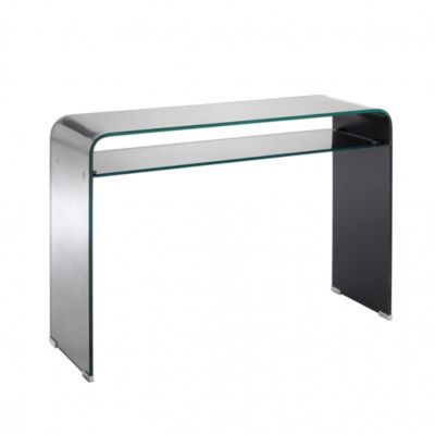 Produit : FUEGO - Table Console Verre Miroir Thème : Be Design Ajouté à la liste de audrey via 35ansFly.fr