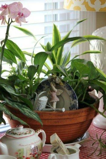 indoor fairy garden containers found on fairy gardens pinterest. Black Bedroom Furniture Sets. Home Design Ideas