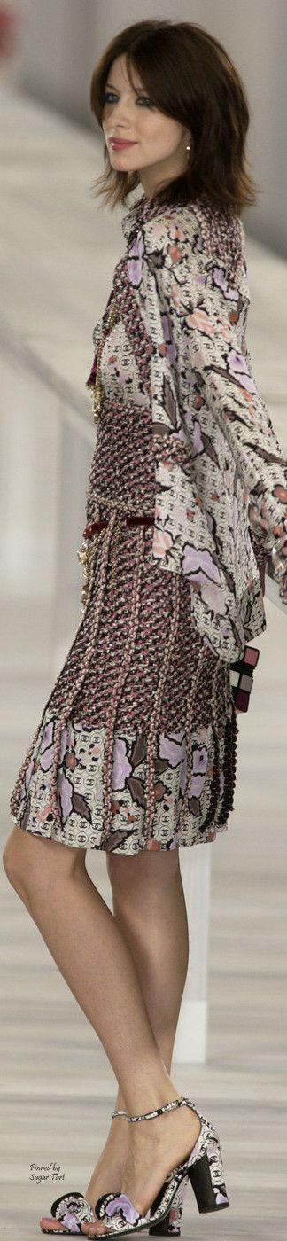 Chanel ~ Neutrals Tweed Dress